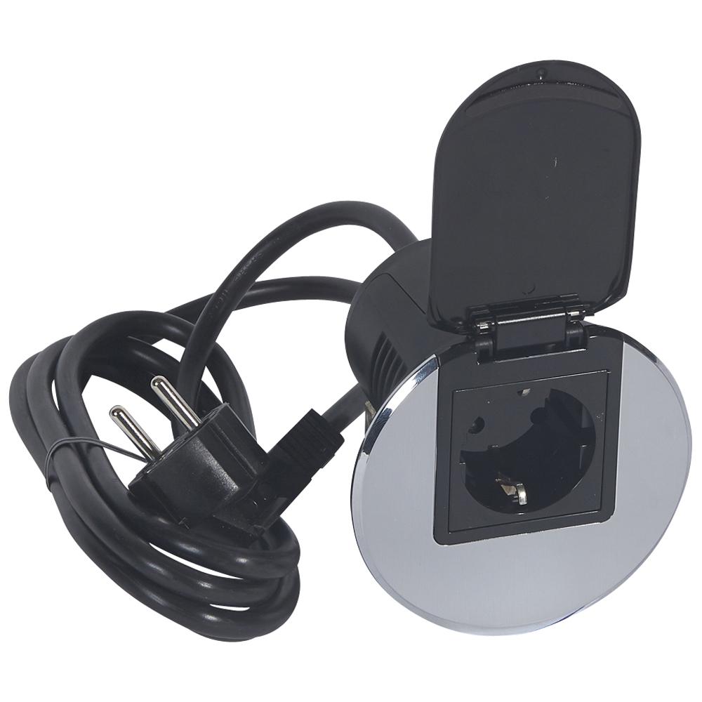 Legrand 054082 Desk Grommet 2p E Socket German