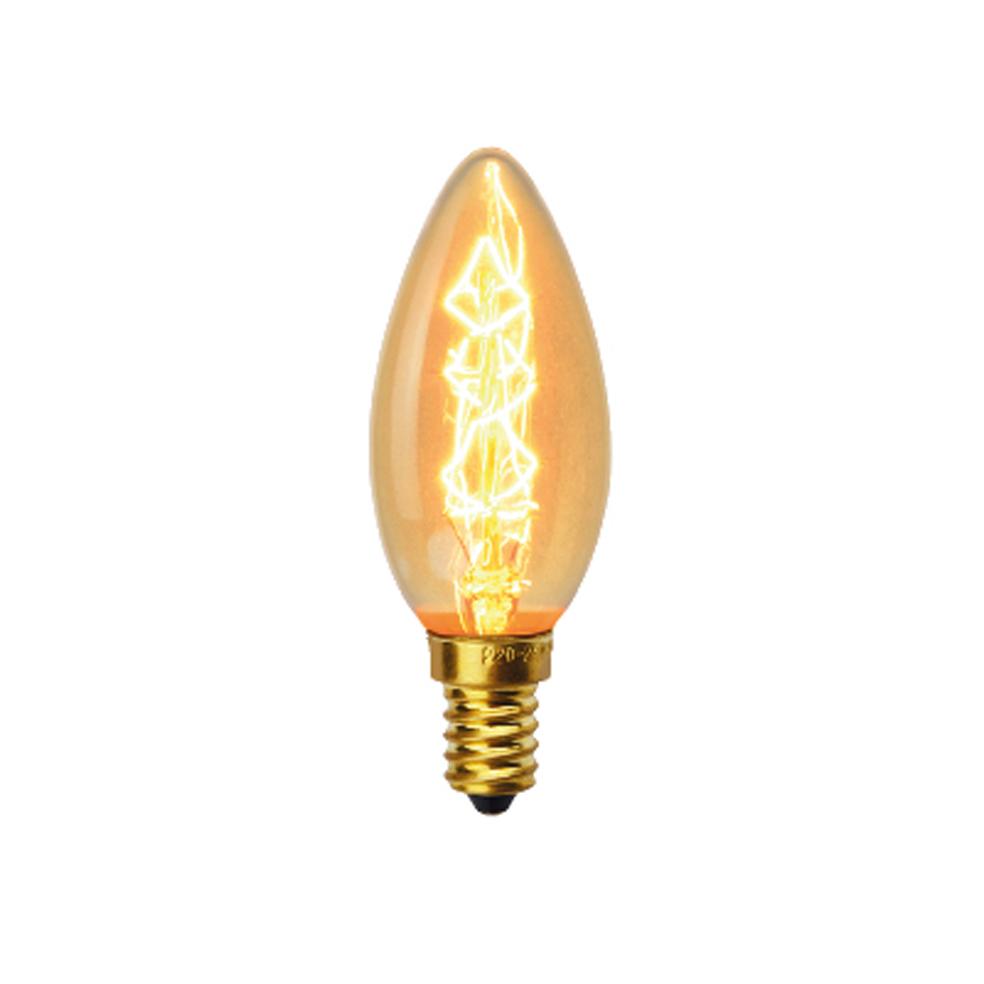VITO - Декоративна филаментна лампа свещ Decoart C35 40W E14 VT 1010960