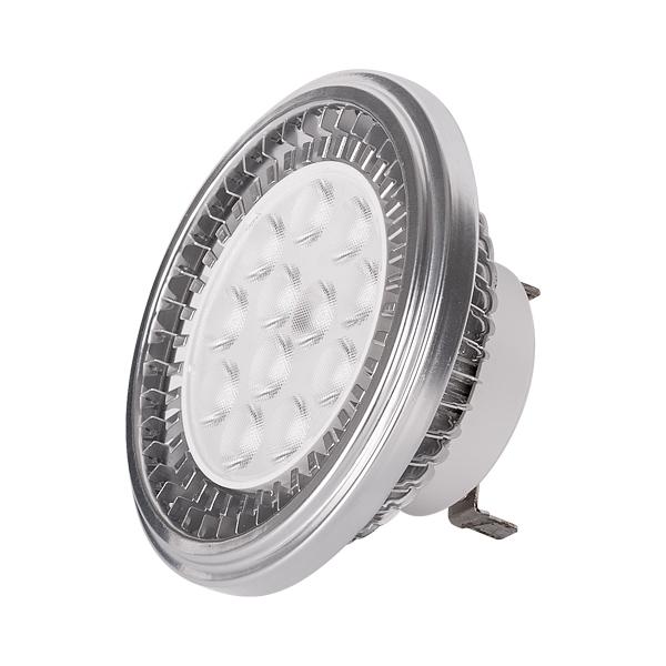 ULTRALUX - LAR12G531227 LED ЛАМПА AR111 12W, G53, 2700K, 12V AC/DC, ТОПЛА СВЕТЛИНА, SMD2835
