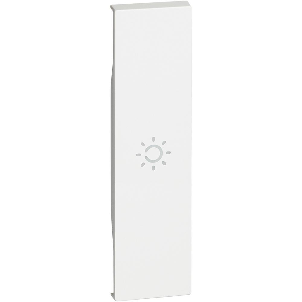 BTICINO - Лицев панел със символ лампа 1 мод. цвят бял Living Now Bticino KW01A