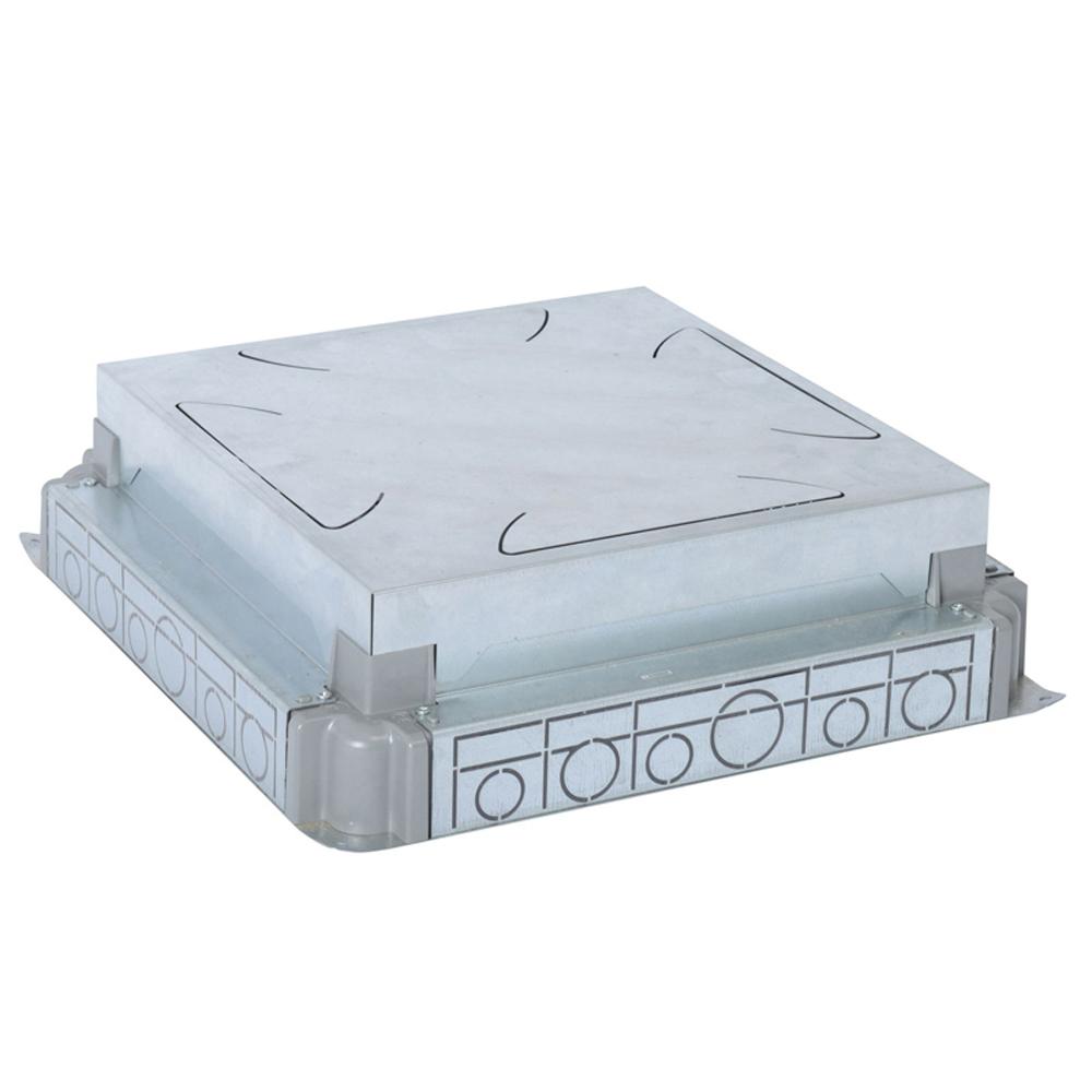 LEGRAND - Конзола за замазка от 65-90мм МЕТАЛНА за подова кутия 24 мод. хоризонтална, 16 мод. вертикална 88092