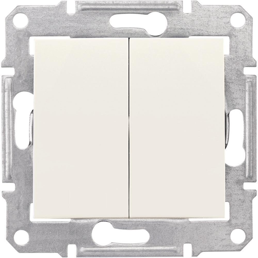 SCHNEIDER ELECTRIC - SDN0600123 Sedna - double 2way switch - 10AX ...