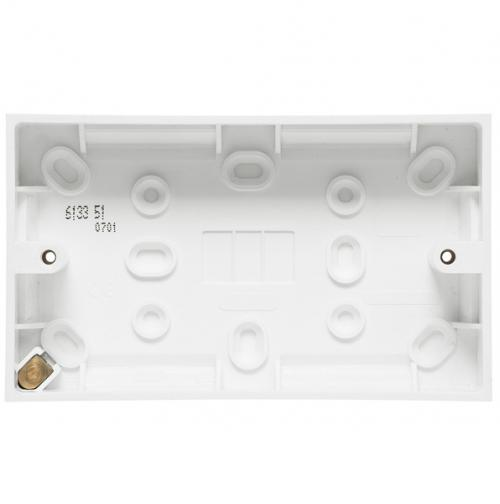 LEGRAND - 613351 Surface mounting box - BS standard - 1 gang