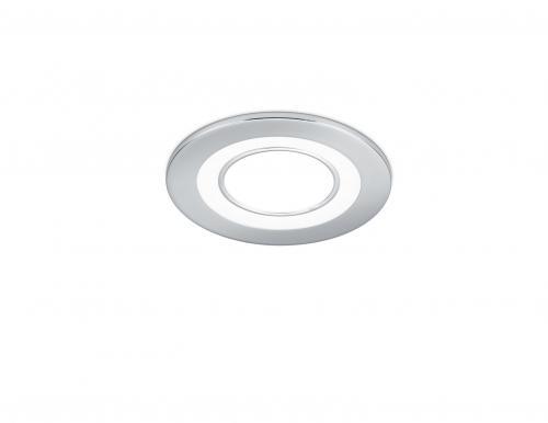 TRIO - LED панел за вграждане 5W хром  CORE – 652510106