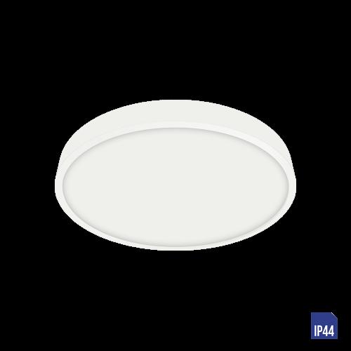 LUXERA - LED панел 6W влагозащитен IP44 външен монтаж LENYS 49034 бяло