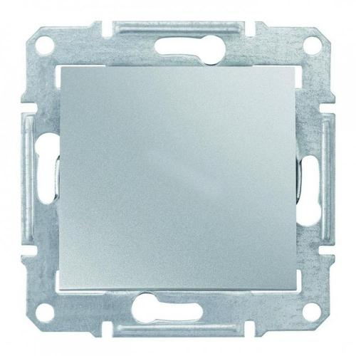 SCHNEIDER ELECTRIC - SDN5600160 Sedna - blind cover - without frame aluminium