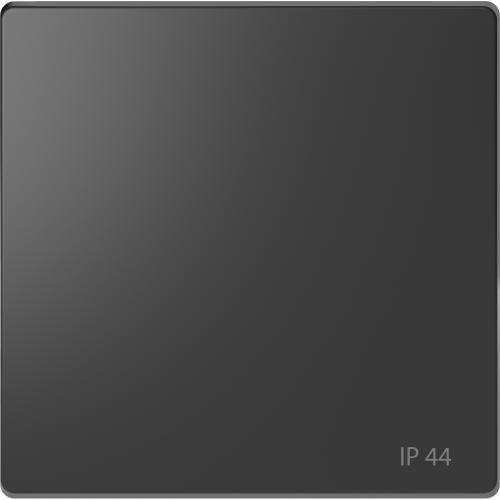 SCHNEIDER ELECTRIC - MTN3304-6034 Лицев панел за ключ/бутон IP44 антрацит System Design