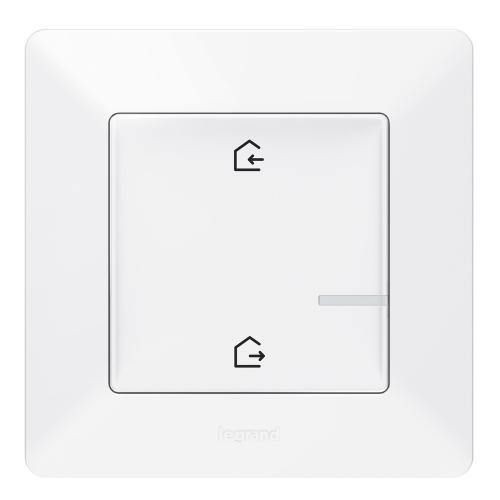 LEGRAND - Сценариен ключ безжичен излизам/прибирам се Netatmo 752186 Valena Life