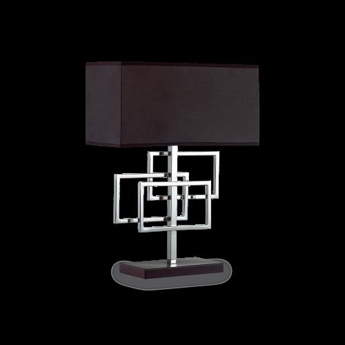 IDEAL LUX - Настолна лампа LUXURY TL1 CROMO 201078