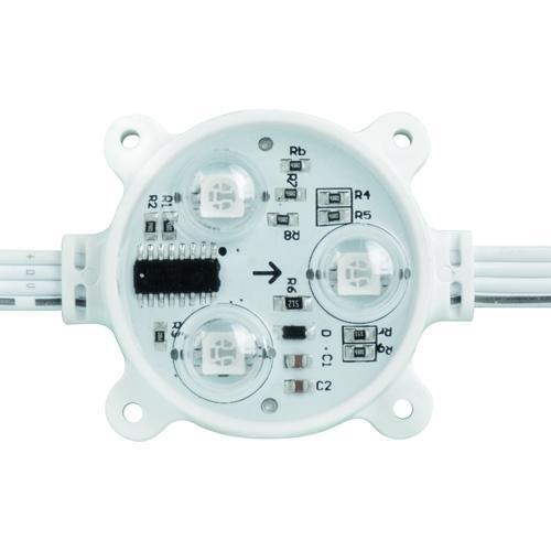 ULTRALUX - DM50503RGB Дигитален светодиоден модул RGB 12VDC 0,72W IC:SM16716 IP68 50бр.