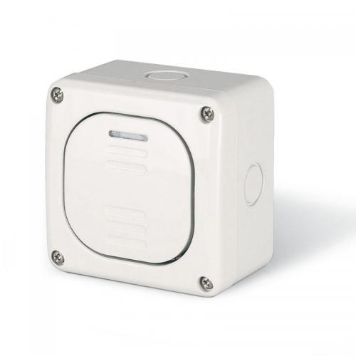 SCAME - Еднополюсен ключ 10А за открит монтаж IP 66, серия Protecta 137.5011
