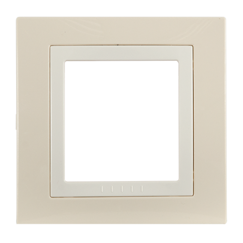 SCHNEIDER ELECTRIC - MGU2.002.559 декоративна рамка Unica Basic единична крем