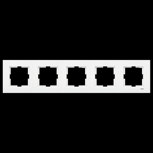 VIKO - 9096 0204 5 Gang Frame Horizontal