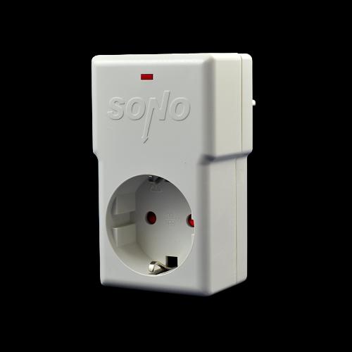 SONO - Защита от напрежение WP230W - бяла техника