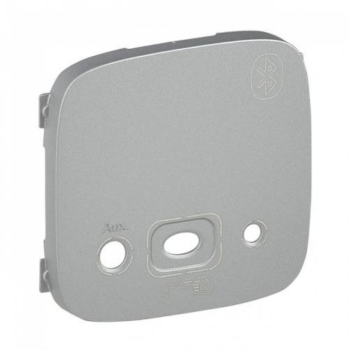 LEGRAND - Лицев панел за Bluetooth модул цвят Алуминий Valena Allure 755437