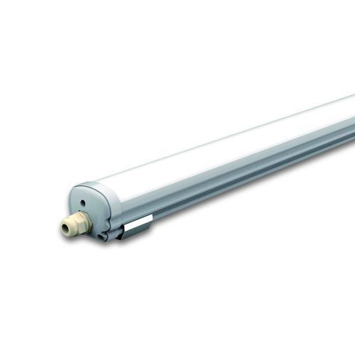 V-TAC -  LED Влагозащитено тяло AL/PC G-Серия 600mm 18W Неутрално Бяла Светлина SKU: 6283 VT-6076 , 6400К 6282