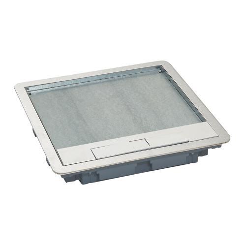 LEGRAND - Капак за подова кутия 16 мод. вертикален, 24 мод. хоризонтален монтаж метален 88005
