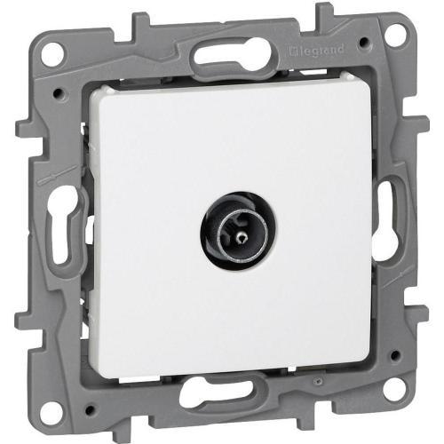 LEGRAND - 764551  Niloe Телевизионна розетка индивидуална бяло