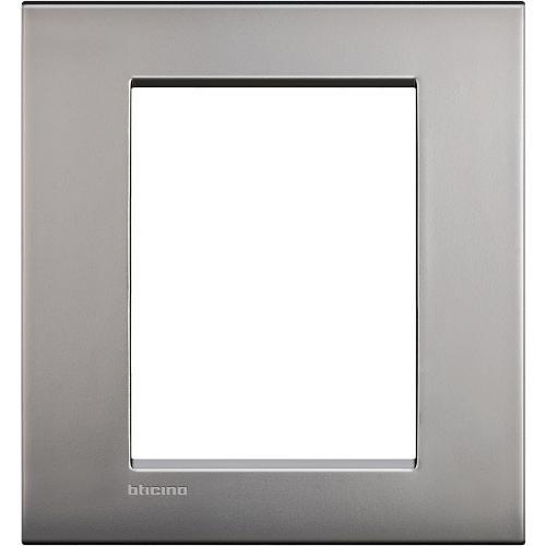 BTICINO - LNC4826NK Рамка 3+3 модула Nickel mat метална Livinglight AIR