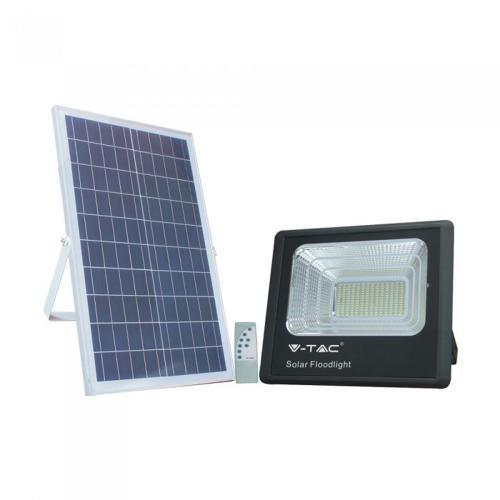 V-TAC - 40W LED Прожектор с Фотоволтаичен Панел 4000К SKU: 8577 VT-200W