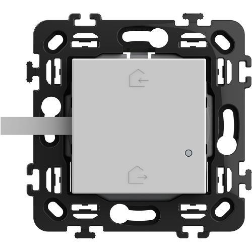 BTICINO - RW4570CW Сценариен ключ Smart излизам/прибирам се БЕЗжичен с 2 мод. носеща рамка цвят Бял Classia Bticino с Netatmo
