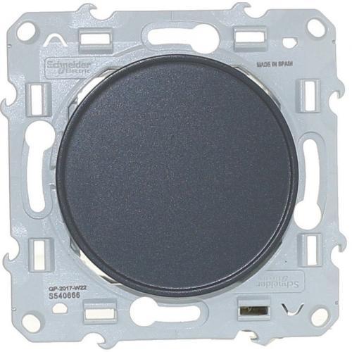 SCHNEIDER ELECTRIC - S540666 Капак за свободен модул, антрацит