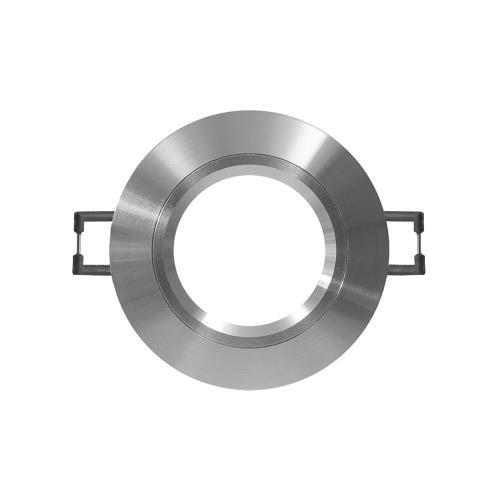 ULTRALUX - LVSMR16AL Луна за вграждане кръг, стационарна, алуминий, IP20