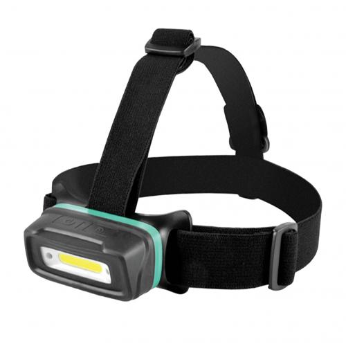 COmmel - Челник за глава LED 5W 2 нива на осветеност 300lm 3 часа работен режим с USB батерия Li-ion 3,7V 700mAh магнитен държач 401-210