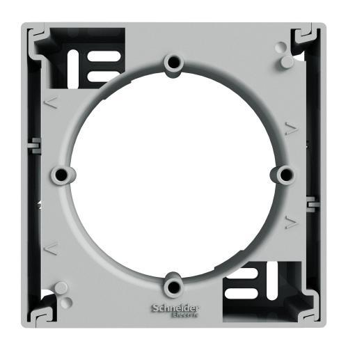 SCHNEIDER ELECTRIC - EPH6100161 Кутия за открит монтаж единична Asfora Алуминий