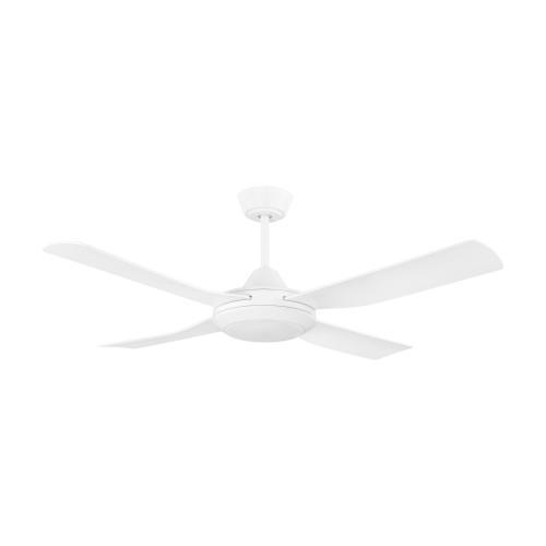 EGLO - Вентилатор с осветление AC 52 W Ø1220/334+LED-CCT 1X20W 3000-5000К бяла осн./бяло с дист. BONDI 1 35089