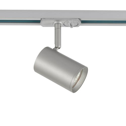 ACA LIGHTING - Релсов прожектор за монофазна шина сив TS68GU3CG
