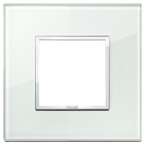 VIMAR - 21642.71 - Двумодулна рамка crystal aqua
