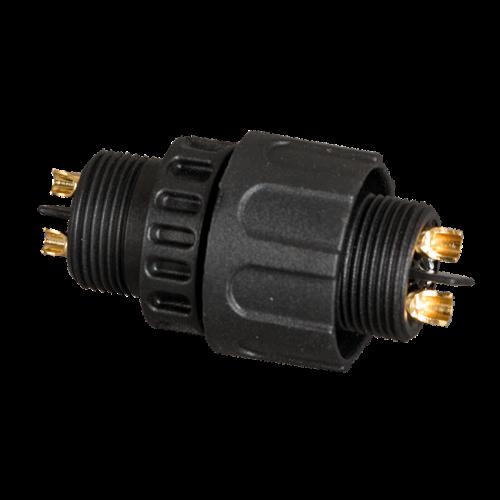 ULTRALUX - KW2PM19S Влагозащитен конектор M19, 2 пина, IP67