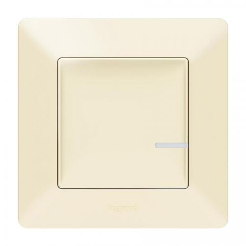 LEGRAND - Свързан ключ безжичен Netatmo 752285 Valena Life крем
