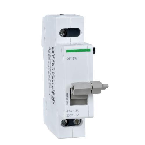 SCHNEIDER ELECTRIC - Помощен контакт Acti 9 iSW индикация състояние OF 1CO A9A15096