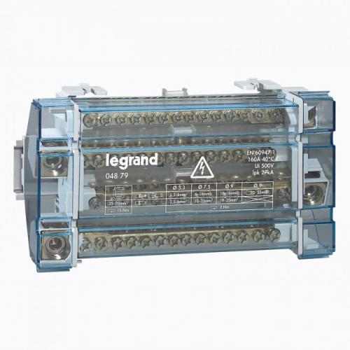 LEGRAND - Разпределителен клемен блок 160А 4P 10 модула 4879