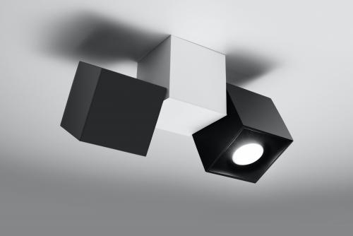 SOLLUX - Плафон  OPTIK NERO 3 SL.0474