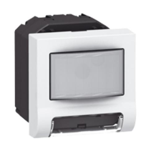 LEGRAND - 78511 Индикатор за препятствие LED комбиниран с датчик за движение 2 мод. Mosaic бял