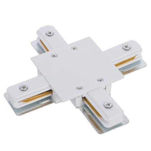 NOWODVORSKI - Конектор  PROFILE RECESSED X- CONNECTOR WHITE 8836