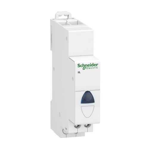SCHNEIDER ELECTRIC - Модулен индикатор Acti 9 iIL 110…230Vac син A9E18323