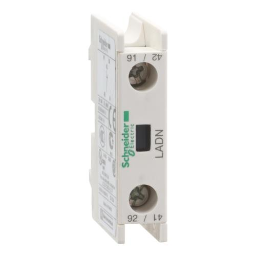 SCHNEIDER ELECTRIC - Блок помощни контакти TeSys D 1NC винтови клеми LADN01