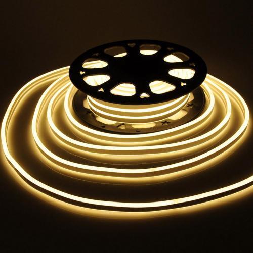 V-TAC - Neon Flex 24V Топло Бяла Светлина 3000K SKU: 2513 VT-555WW