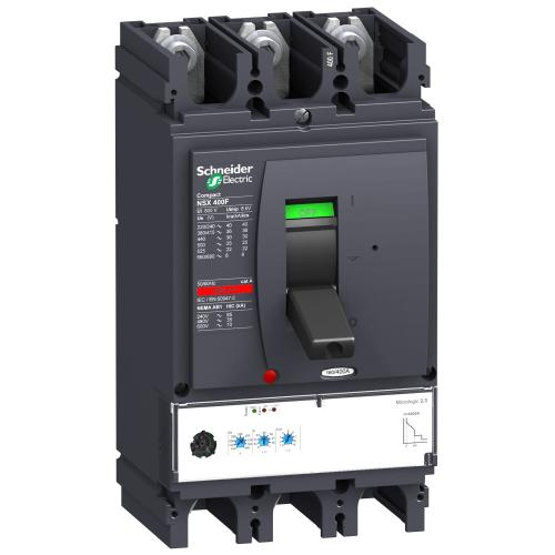 SCHNEIDER ELECTRIC - Автомат ComPact NSX630F 3P 630А Micrologic 2.3 36kA регулируем LV432876