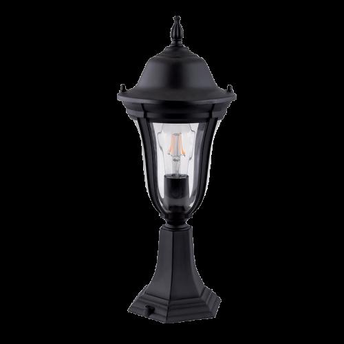 ELMARK - GARDEN LAMP MARK BLACK 1XE27 H490mm 96204MF/BK