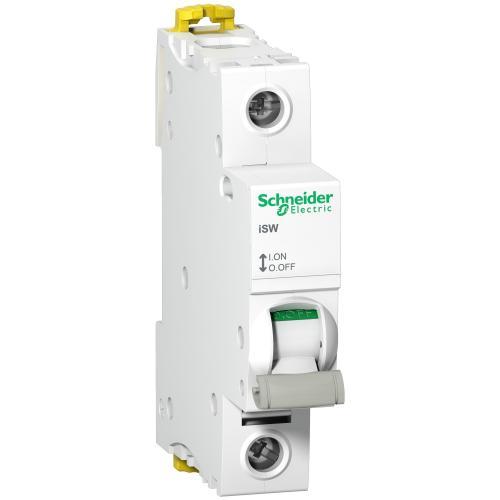 SCHNEIDER ELECTRIC - Товаров прекъсвач /шалтер/ Acti 9 iSW 1P 63A 250V 1 мод. A9S65163