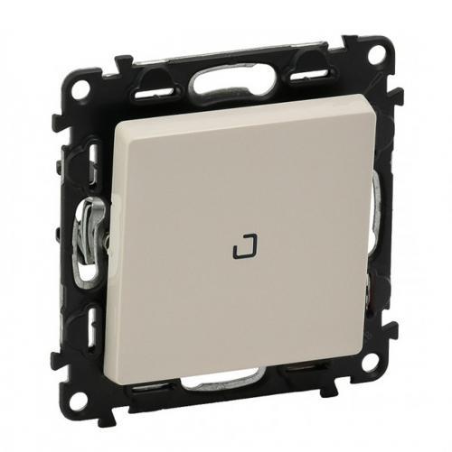 LEGRAND - Еднополюсен ключ с LED индикатор 0.15mA Valena Life 752210 крем