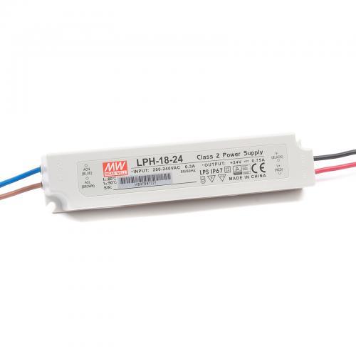 MEAN WELL - Водоустойчиво LED захранване LPH-18-24