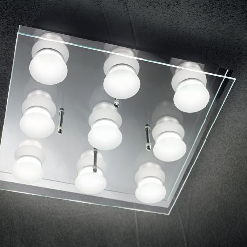 IDEAL LUX - Плафон IKES PL9  196732