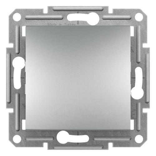 SCHNEIDER ELECTRIC - Бутон алуминий 10A Asfora EPH0800361