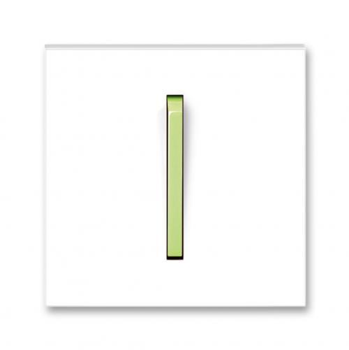 ABB - Лицев панел за ключ СХ.1/6 ABB NEO Зелено 3559M-A00651 42